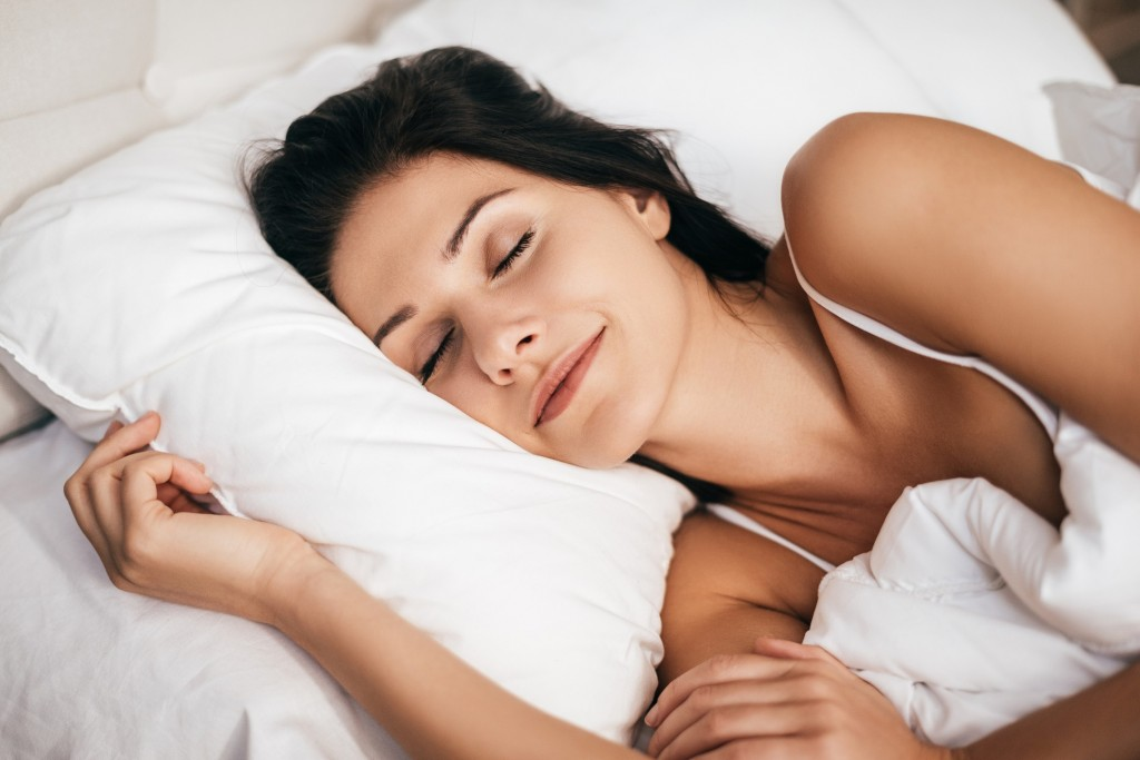 woman sleeping 1