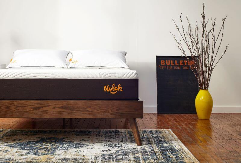 Nolah mattress in a bedroom