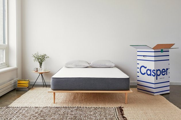 Casper mattress in a bedroom