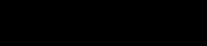 Ghostbed logo - black