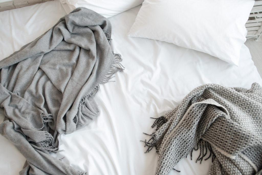 pillows blankets