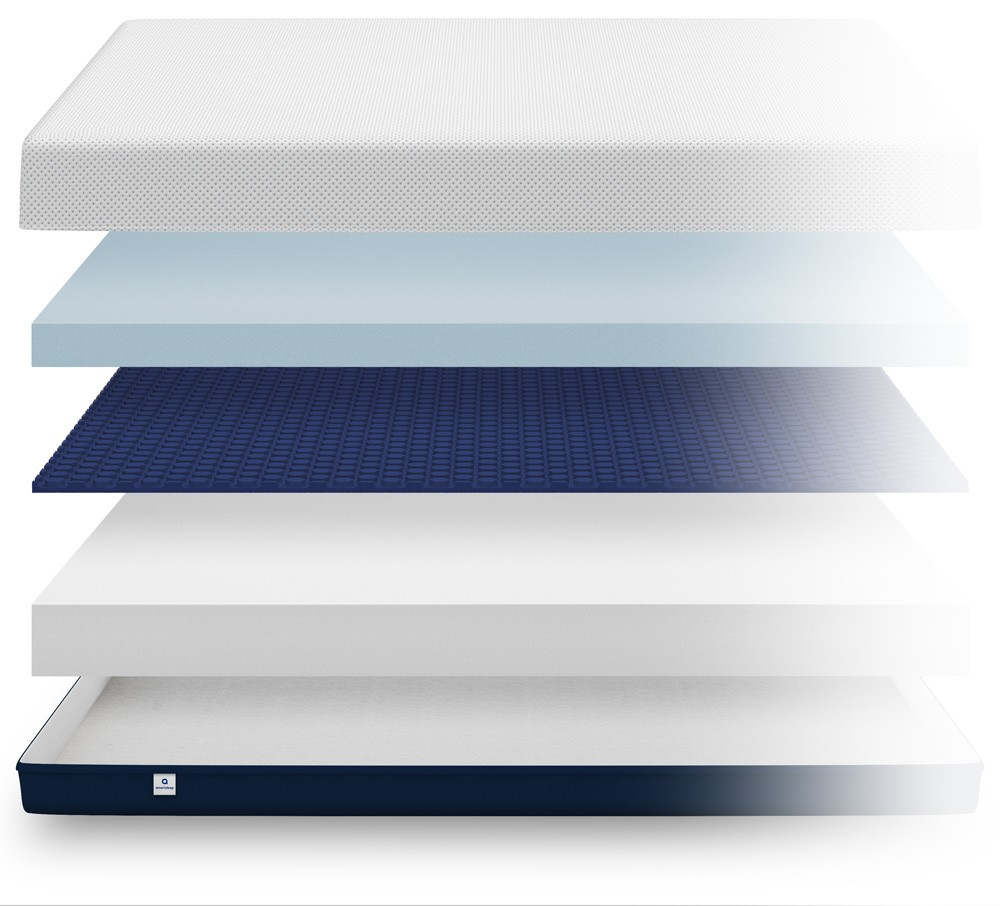 Inside the Amerisleep AS4 mattress