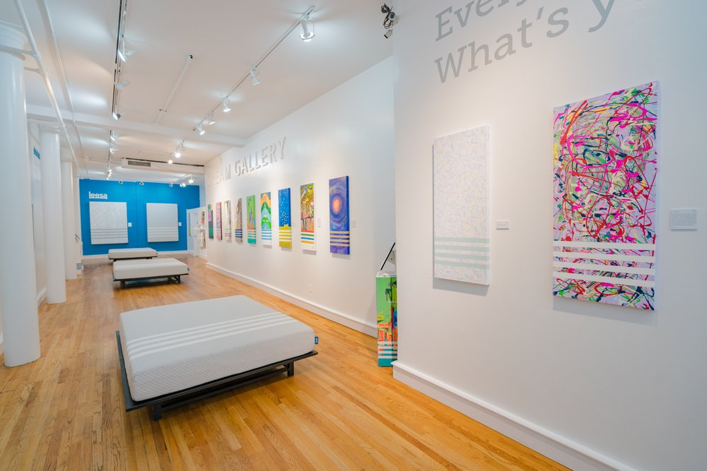 Leesa Dream Gallery in Soho, NY