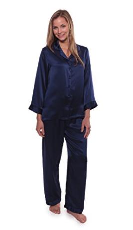 TexereSilk 100% Silk Pajama Set