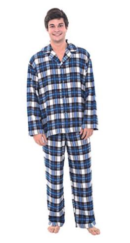 Alexander Del Rossa Men's Flannel Pajamas