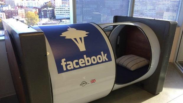 Facebook sleep pod