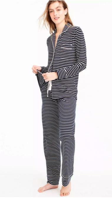 J. Crew Dreamy Cotton Pajama Set