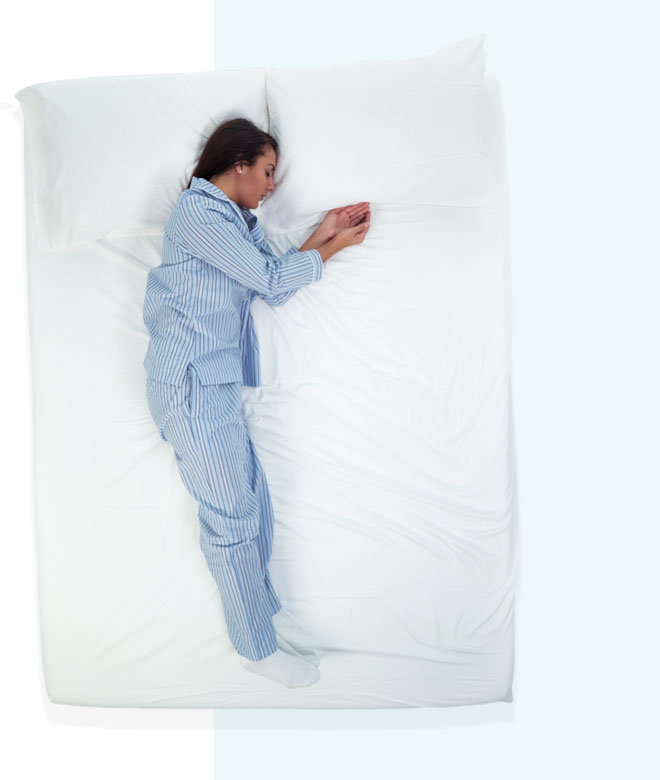What Does Your Sleep Position Say About You Mattress