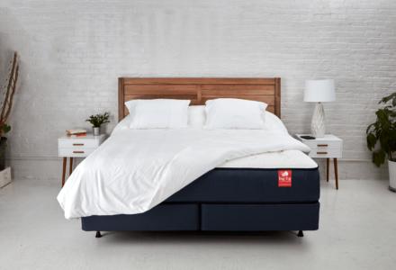 Big Fig mattress in bedroom