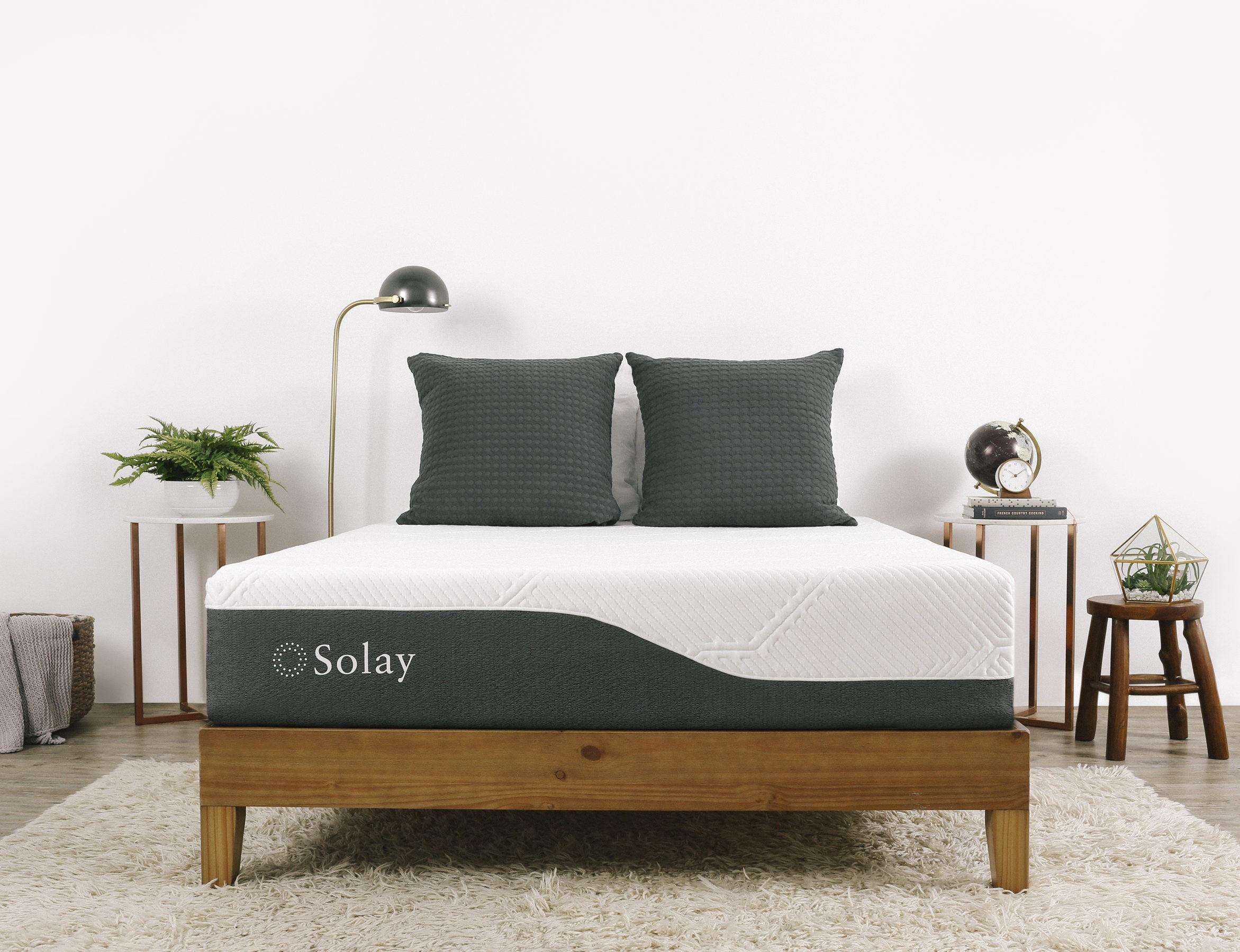 Solay mattress in bedroom