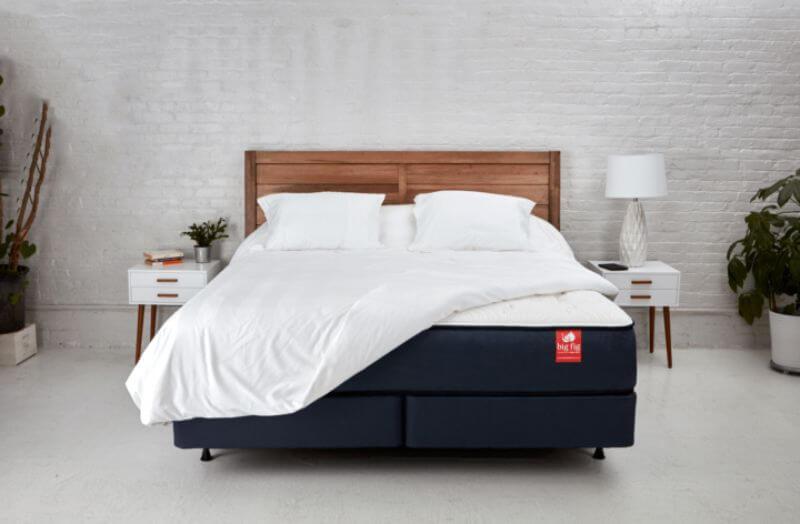 Big Fig mattress in a bedroom