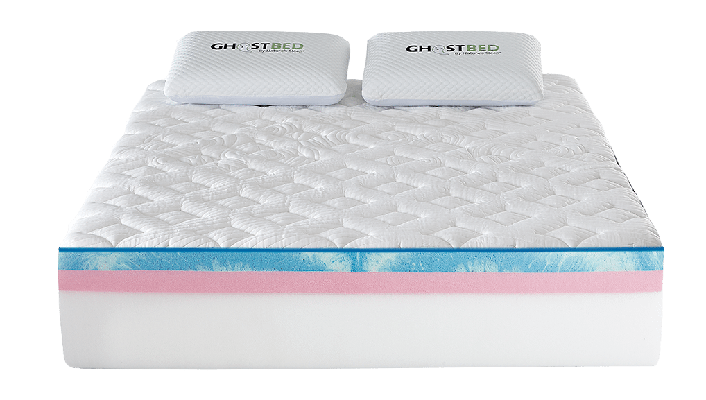 Inside the GhostBed Luxe mattress