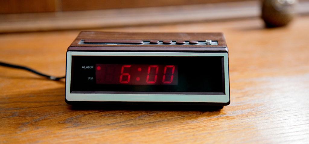 Old school alarm clock