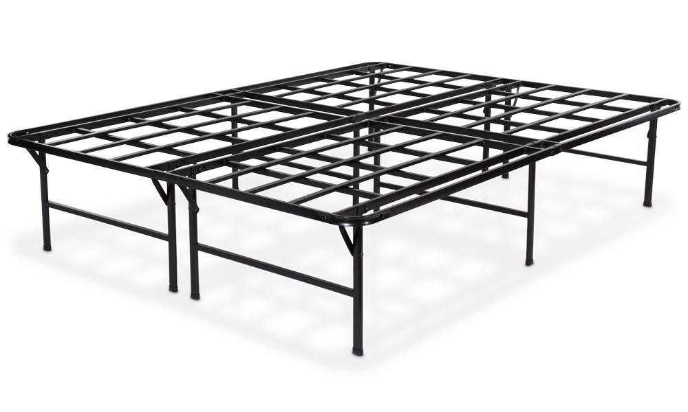 puffy bed base mattress frame 1.4