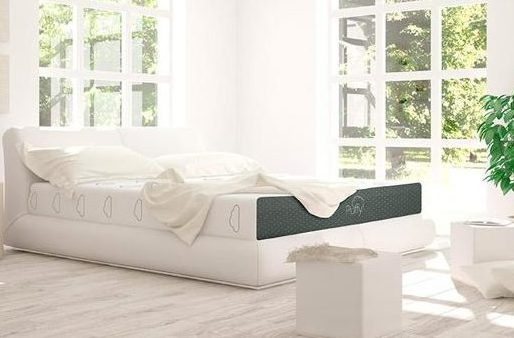 Puffy mattress in bedroom