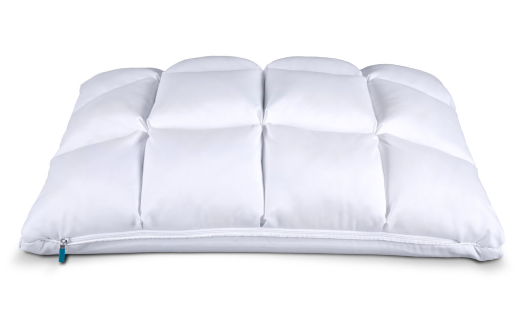 Leesa Hybrid Pillow: Side 1