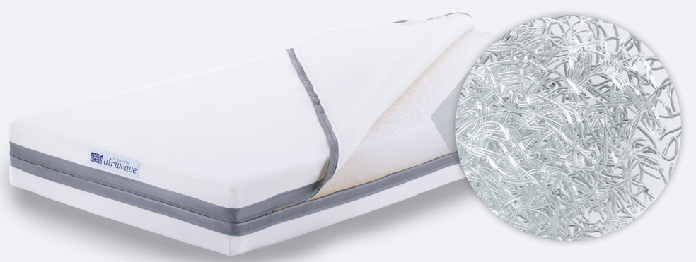 Inside the airweave mattress