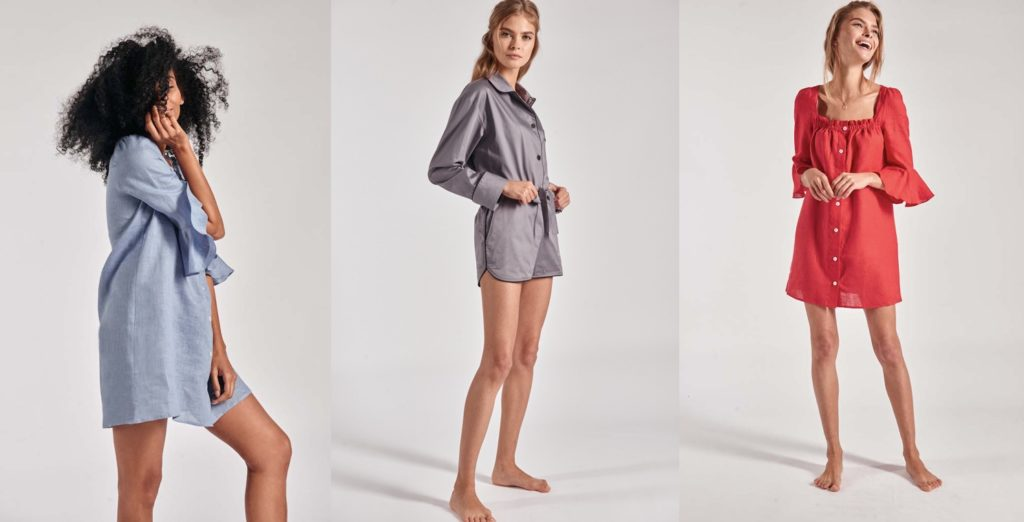 PJs and Loungewear by Sleeper Meant to be Worn Outside the Bedroom