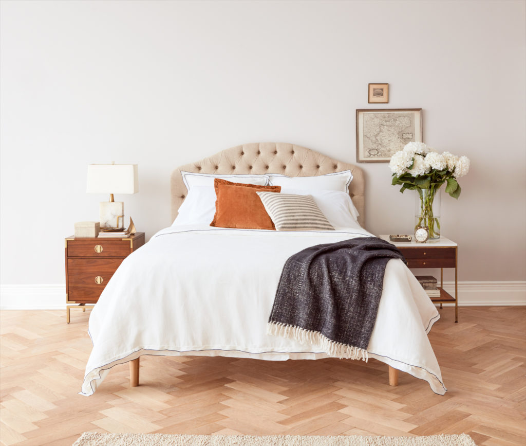 Allswell curated bedding set