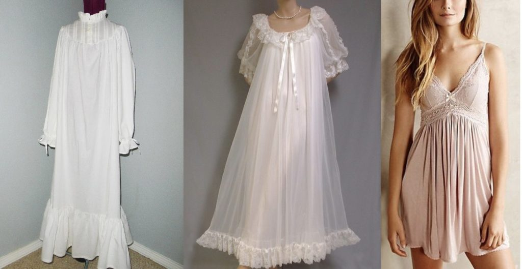 evolution of nightgown
