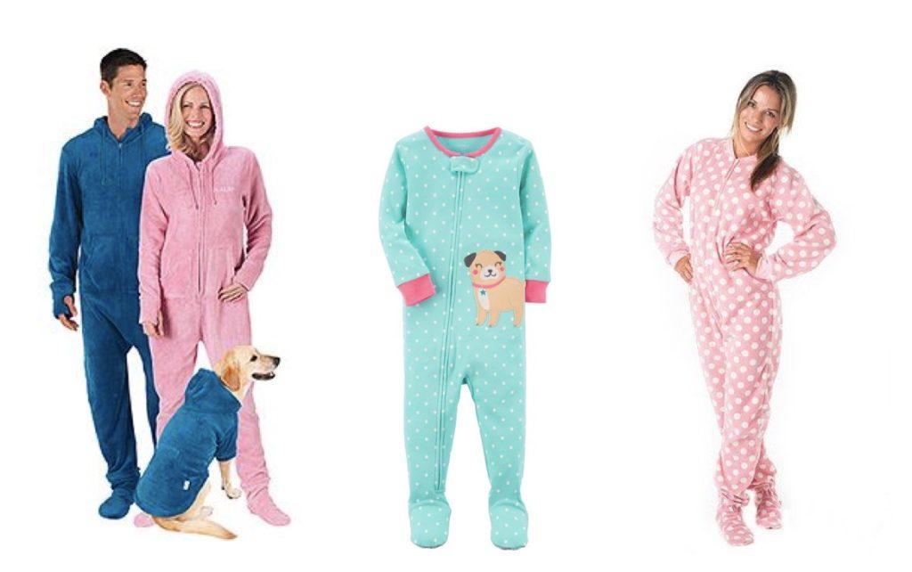 Footie Pajama Sets