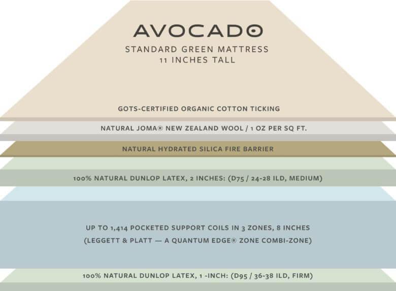 inside avocado