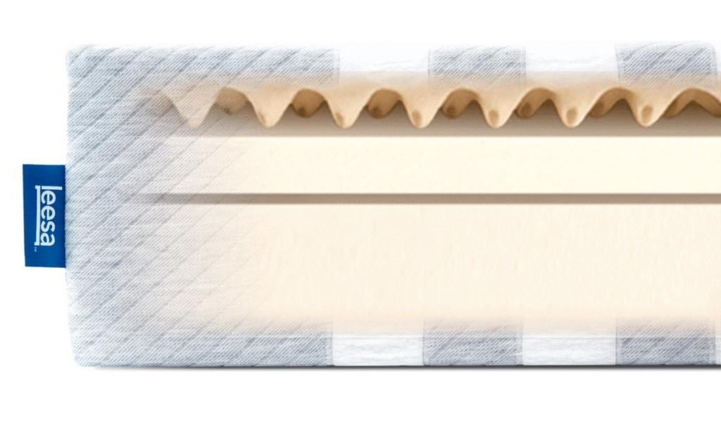 Layers inside the Leesa mattress