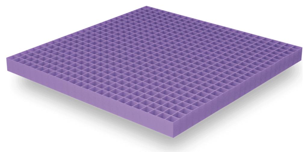 Purple mattress review: hyper-elastic polymer grid
