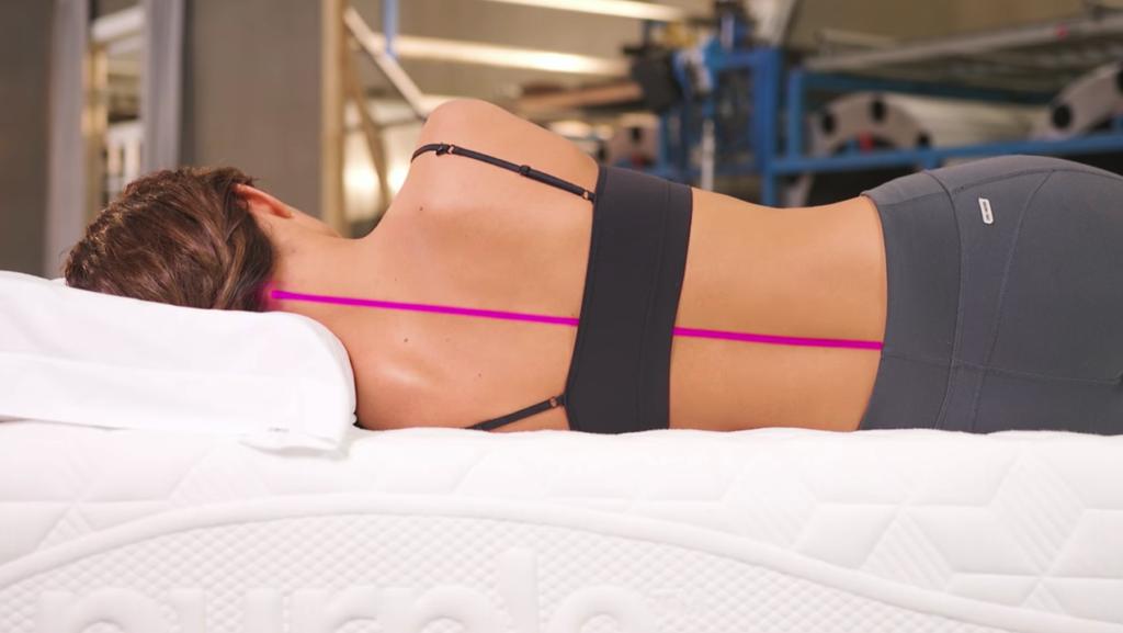 Purple mattress review: side sleeper test