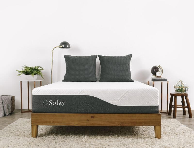 Solay mattress in a bedroom