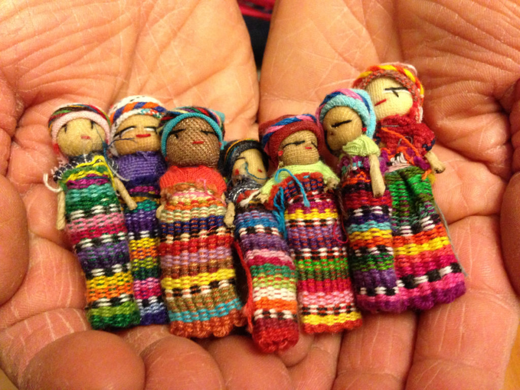 Handful of Worry Dolls