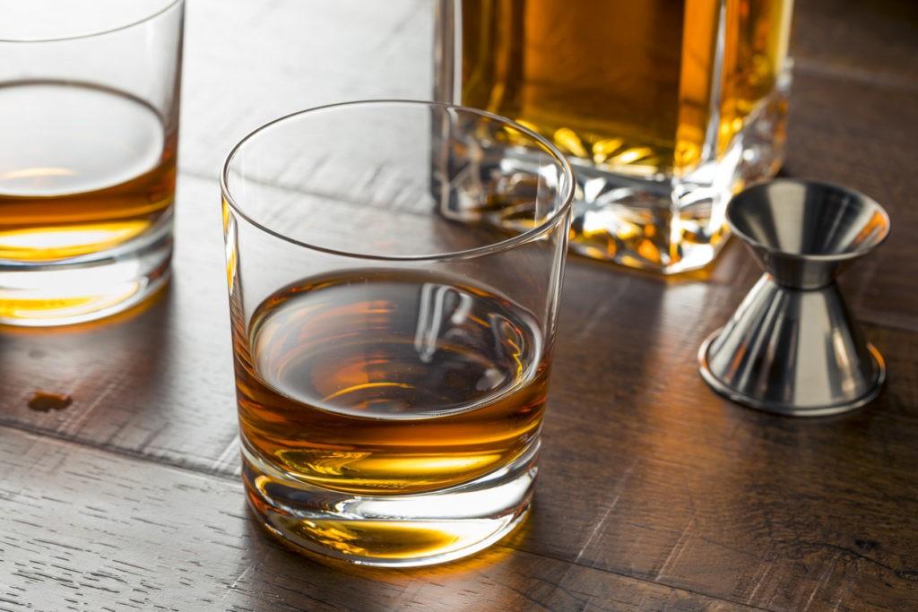 Bourbon Whiskey Neat