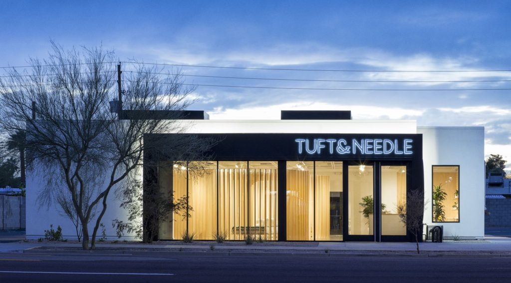 Tuft & Needle mattress store