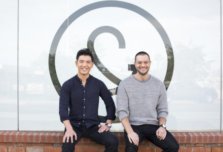 Founders of Tuft & Needle - JT Marino and Daehee Park