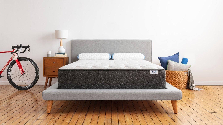 Bear Hybrid mattress in a bedroom