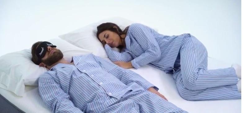 casper sleeping positions