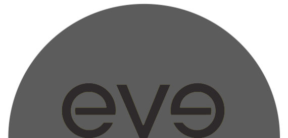 Eve logo - black