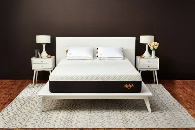 Nolah mattress in a bedroom setting