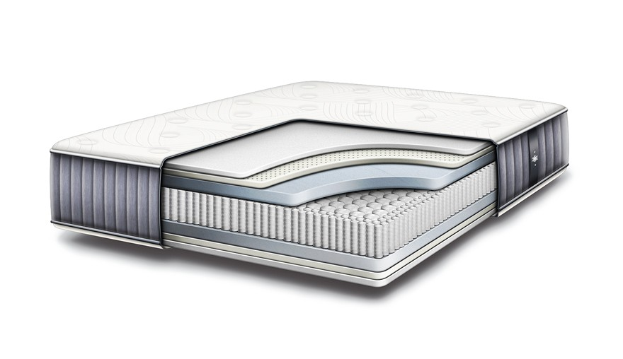 A look inside the IDLE Sleep mattress