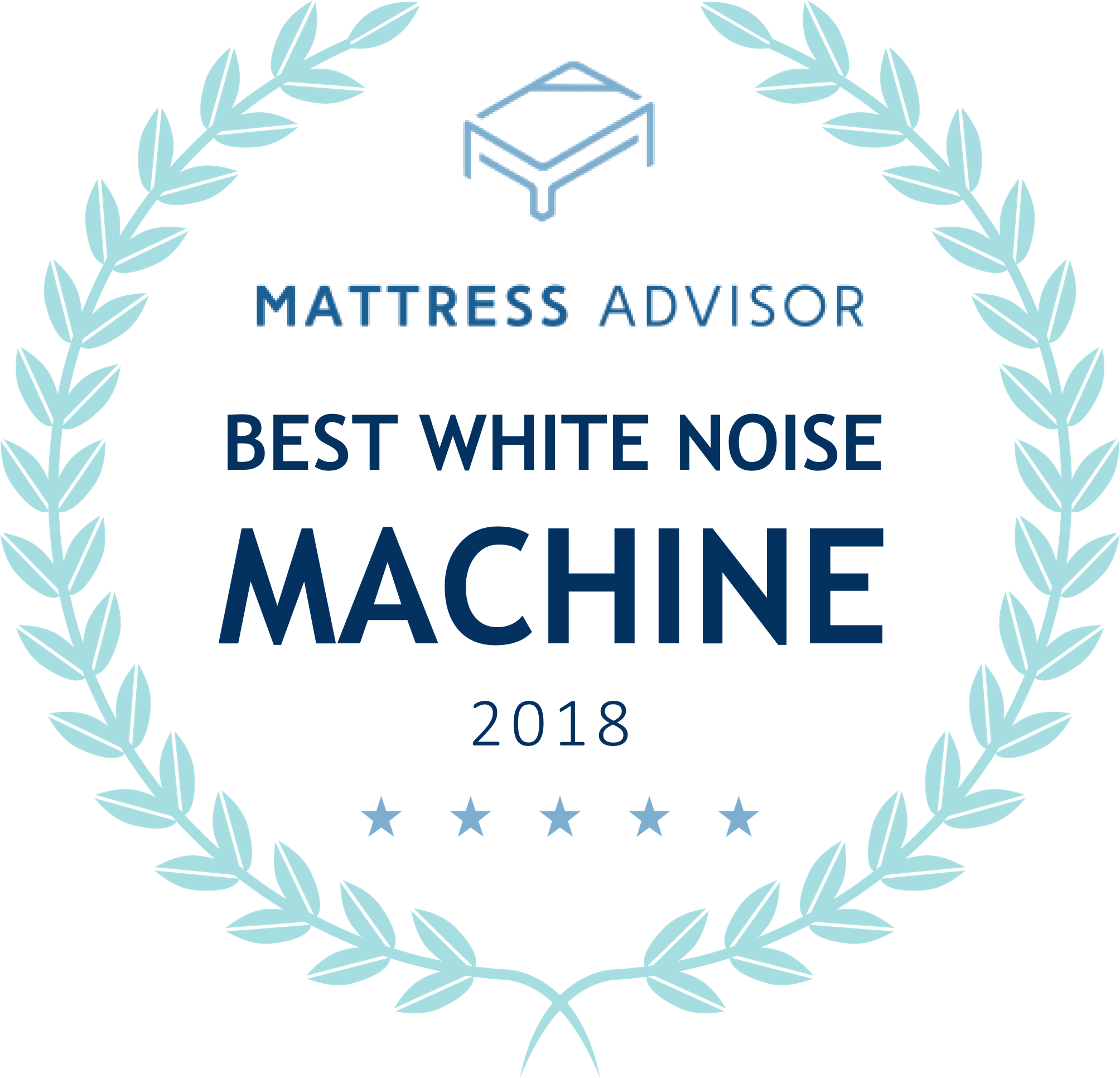 "Marpac award ""Best White Noise Machine"" for 2018"