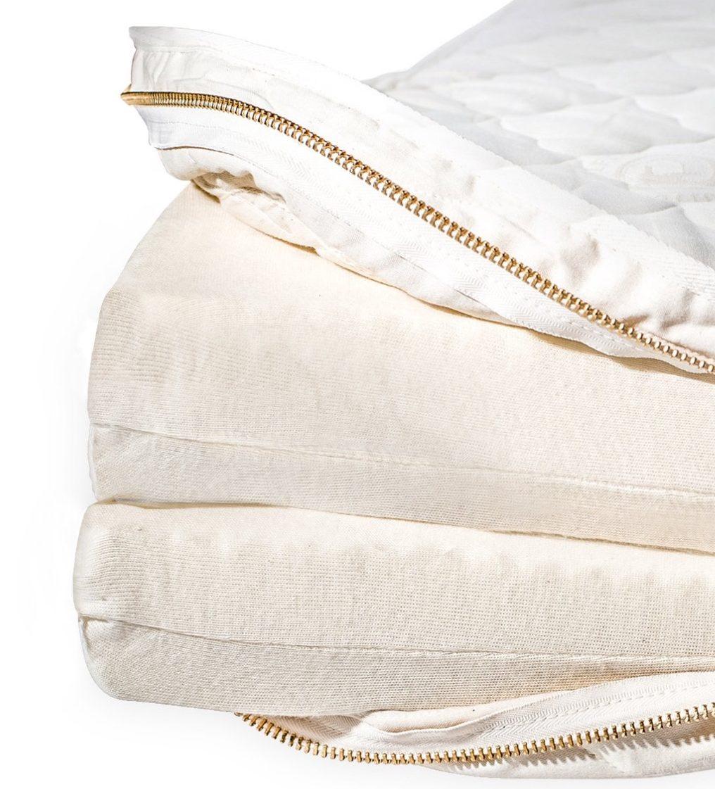 A look inside the Metta Bed mattress