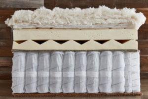 A look inside the Cedar mattress