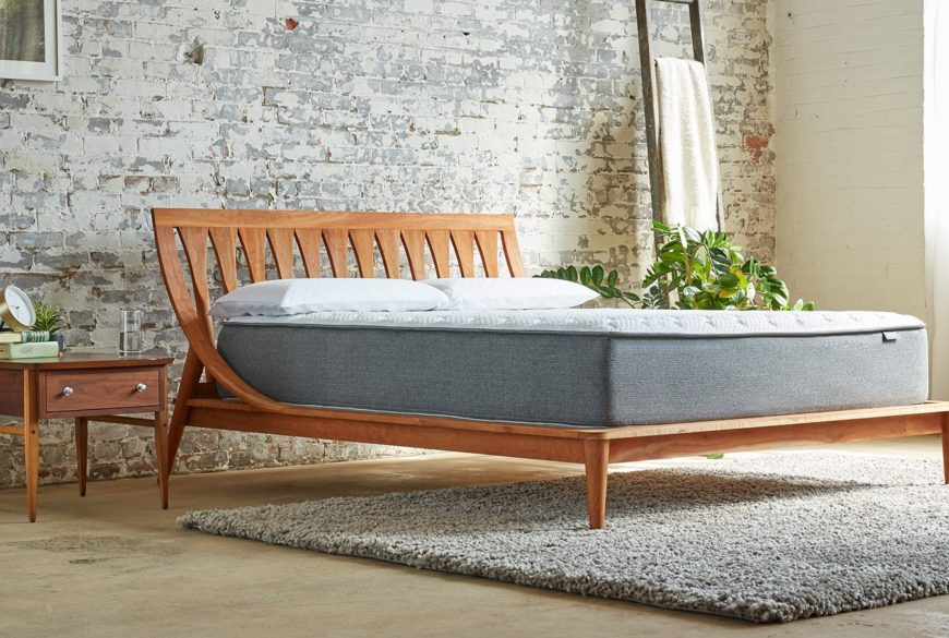 Aviya mattress in a bedroom