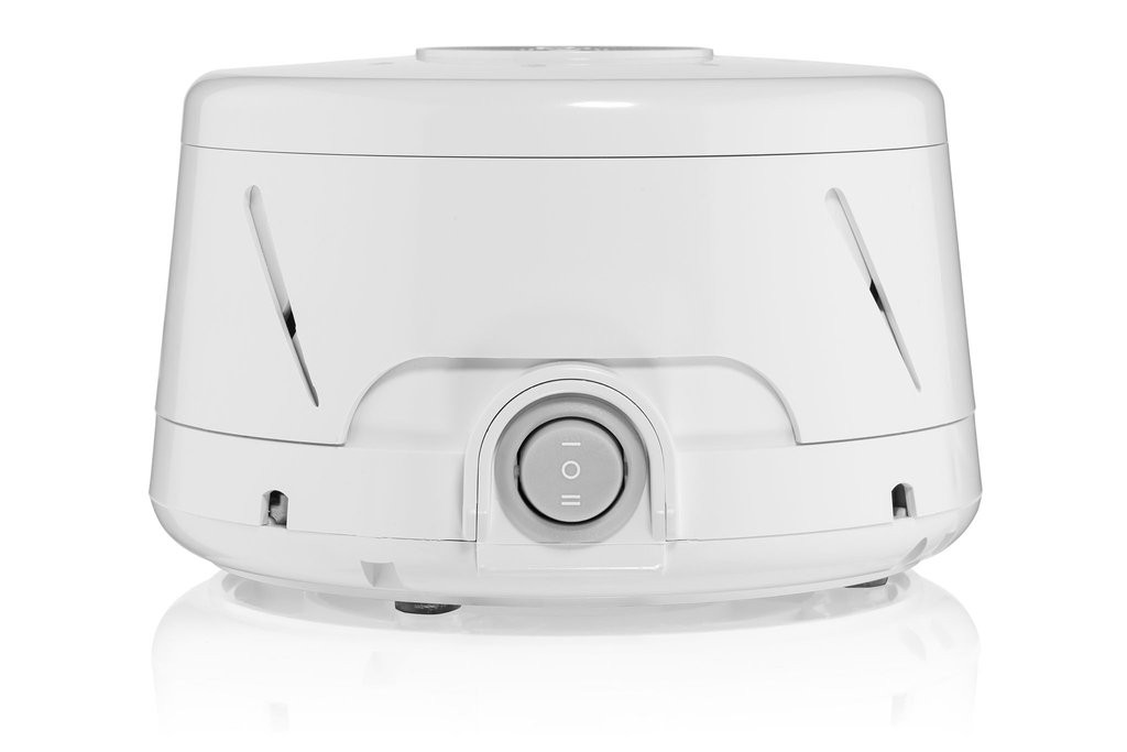 Straight on shot of the Marpac Dohm Classic White Noise Machine
