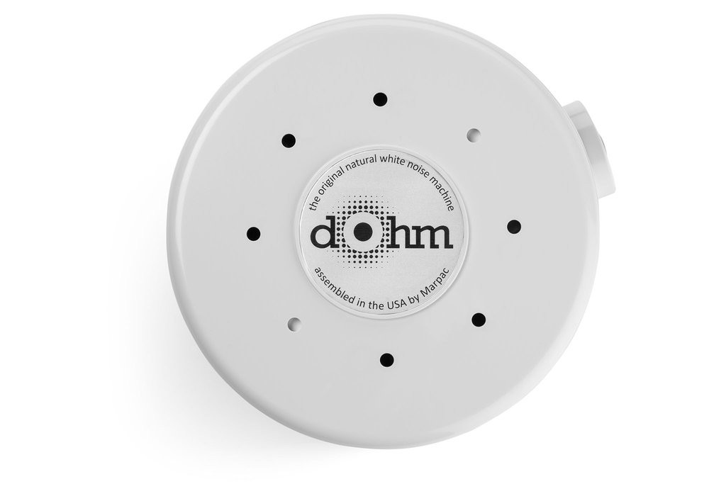 Aerial shot of Marpac's Dphm Classic White Noise Machine