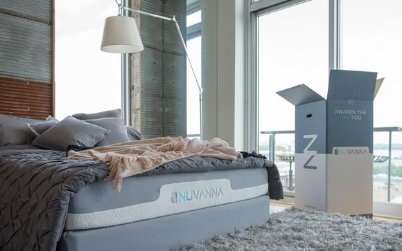Nuvanna Mattress in bedroom