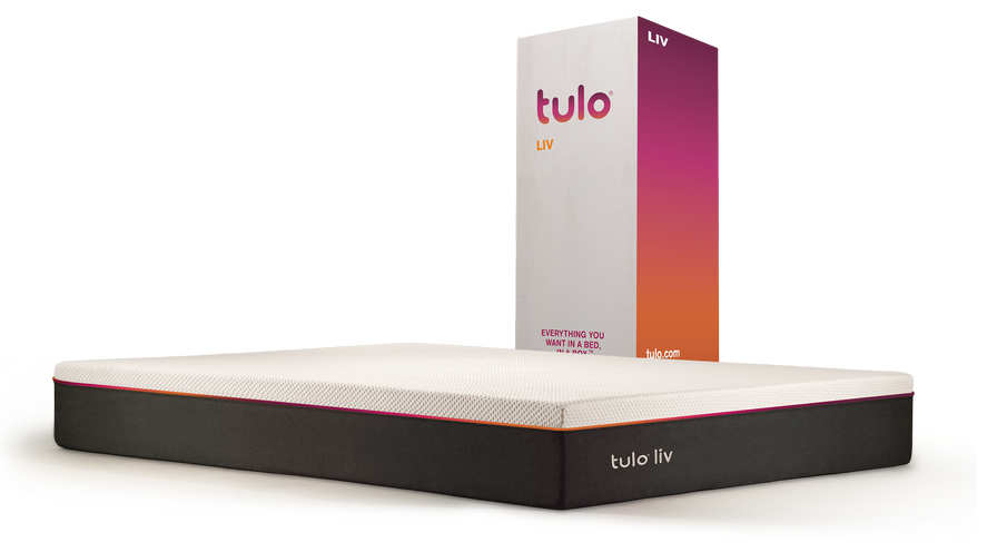 Tulo LIV beside box