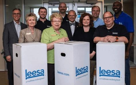 leesa team donation