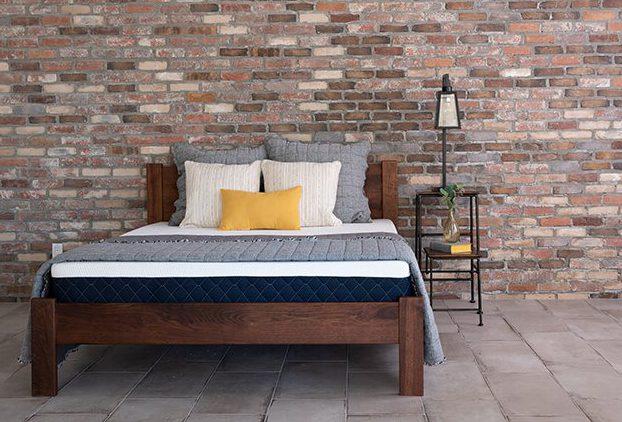 Brooklyn Bowery mattress in a bedroom