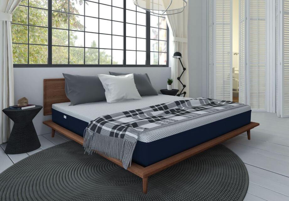 amerisleep as1 mattress in a bedroom
